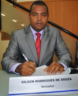 Vereador Gilson Rodrigues