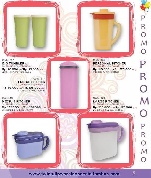 Promo Diskon Tulipware | Mei - Juni 2015