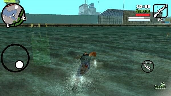 GTA San Andreas Android ss 2
