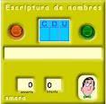 Escriptura de nombres