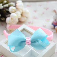 Baby blue hairband -- HA737 Price:RM18 per pc