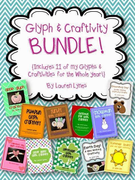 http://www.teacherspayteachers.com/Product/Glyph-Craftivity-BUNDLE-11-Glyphs-Craftivities-for-the-Whole-Year-785252