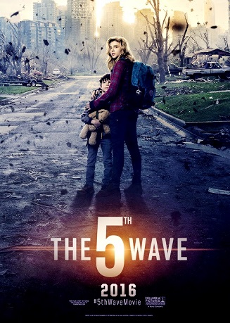 Poster Of The 5th Wave 2016 English 300MB HDTS 480p Free Download Watch Online