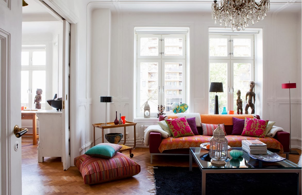 Sovrum inspiration bl tt for Tipos de estilos de decoracion de interiores