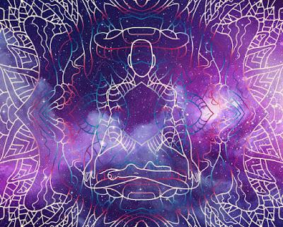 depiction of prana breath