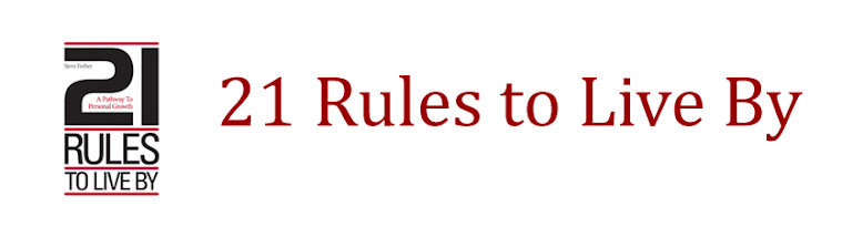 21 Rules to Live By