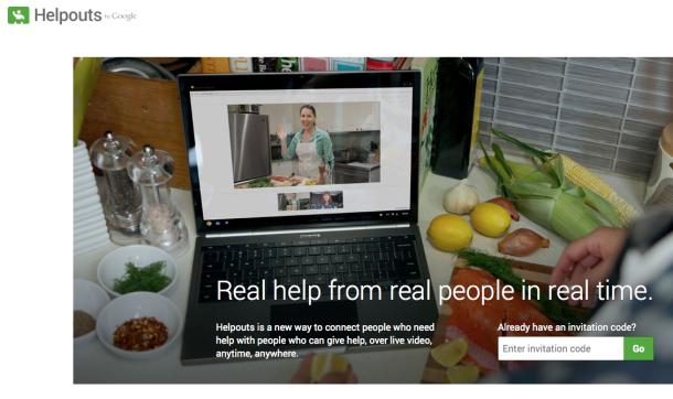 Google Helpouts hizmete açıldı