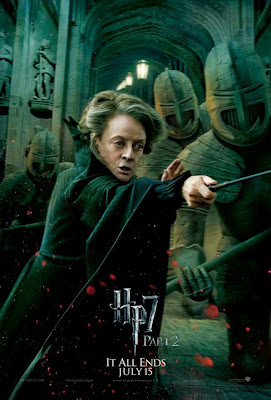 Harry Potter y las reliquias de la muerte. Parte 2. Poster McGonagall
