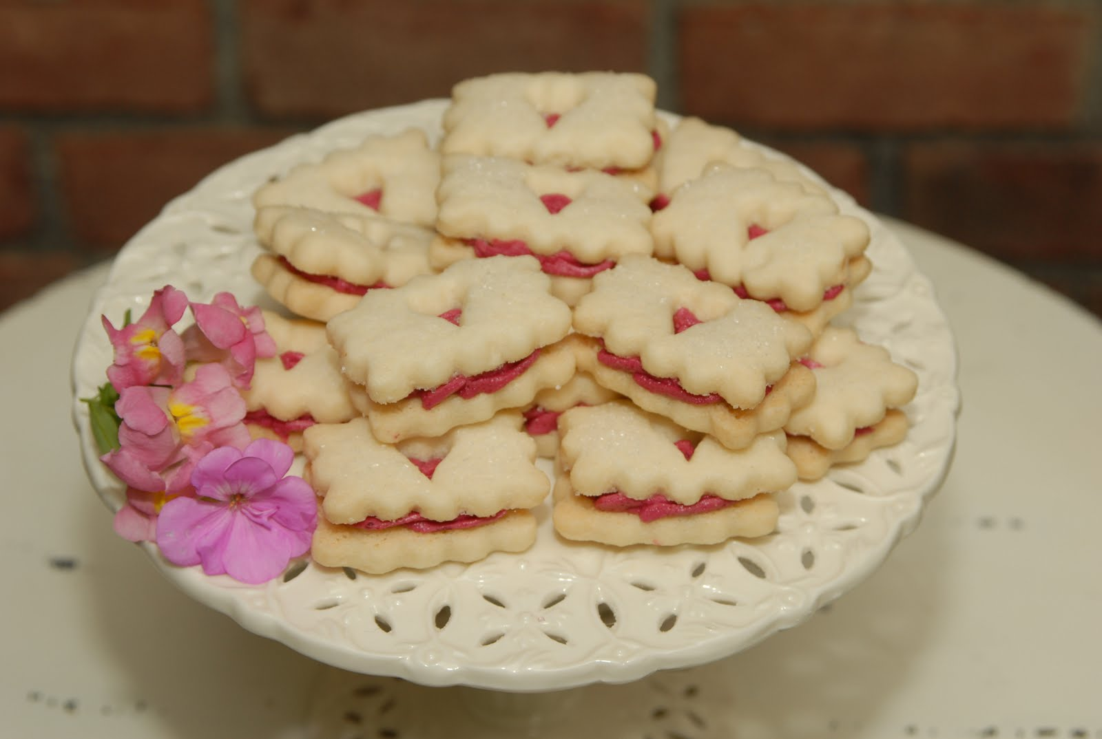 Shortbread Sandwiches Recipe — Dishmaps