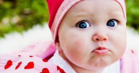 Kids baby pictures: Cute Angry Baby