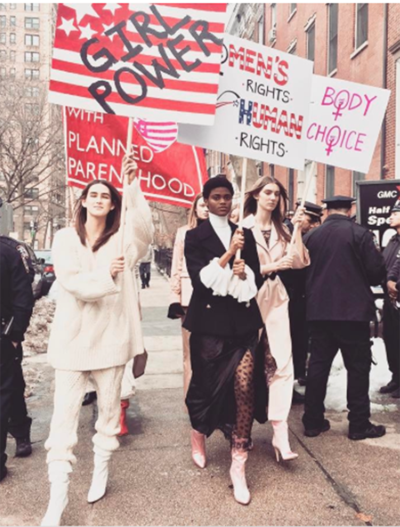 How Fashion Proved It's Feminist AF This Month | Tour de STFU ...