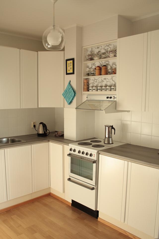 Melkein kuin uusi Minibudjetin keittiöremppa #3