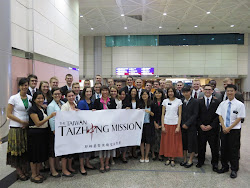 New missionaries from MTC arrive in Taiwan