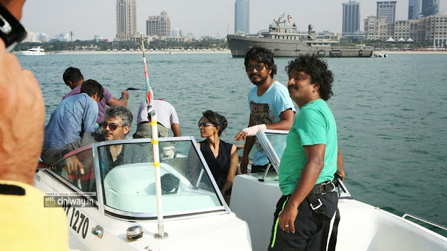 Aarambam Working Stills