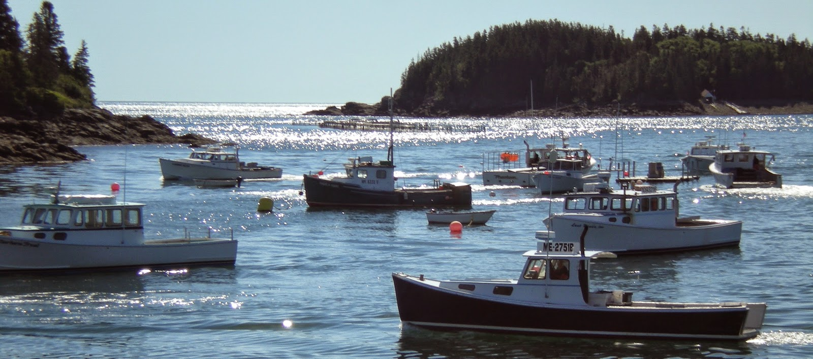 Cutler Harbor Lobster Boats