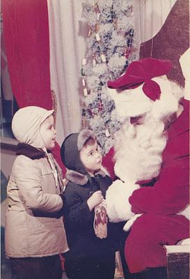 petits garçons, Père Noël