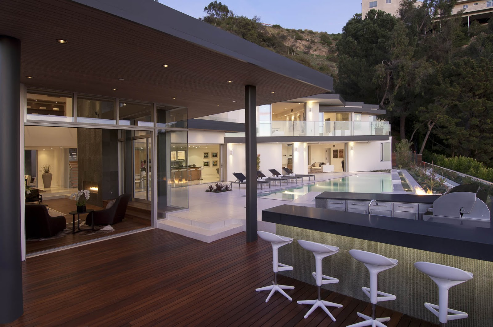 World Of Architecture Impressive Modern Home In Hollywood