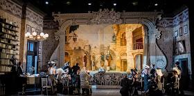 Massenet Don Quichotte - Act one - Grange Park Opera - photo credit Robert Workman