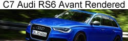 Rendered: Next-gen Audi RS6 Avant (C7)