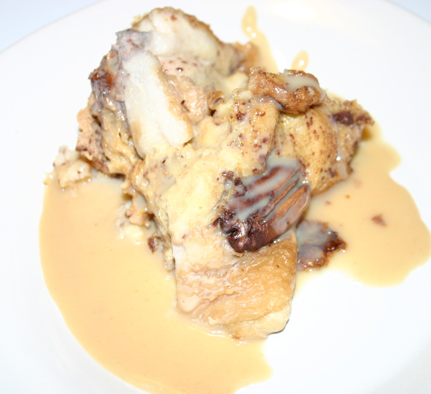 a view at five two crock pot bread pudding with kahlua sauce