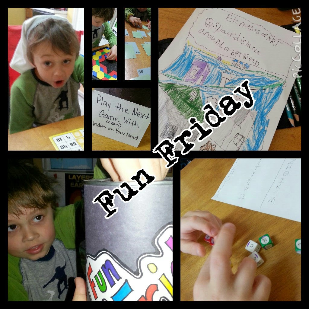Homeschool Fun Friday