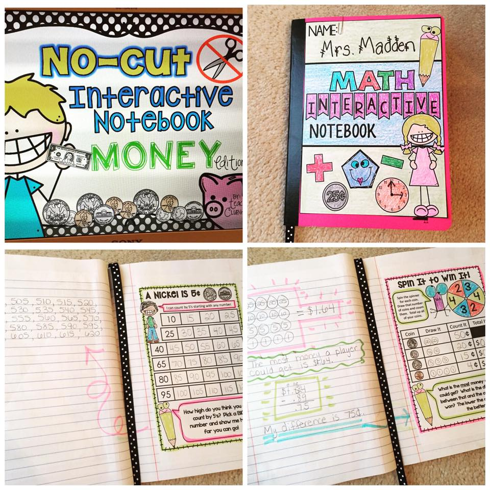 https://www.teacherspayteachers.com/Product/No-Cut-Interactive-Math-Notebook-Money-Edition-1839903