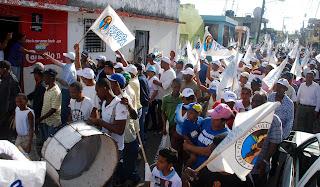 Luis Abinader dice en Capotillo le pasarán factura al PLD por apagones, desempleo y la burla del barrio seguro