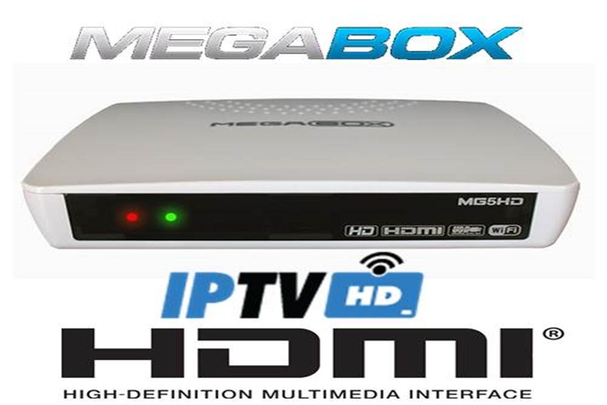 Atulização Megabox MG5 HD Plus V164 Abril