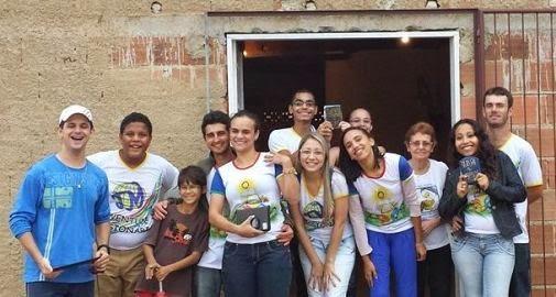Em atividade nas Santas Missões Populares, JM de Nova Venécia realiza visitas missionárias
