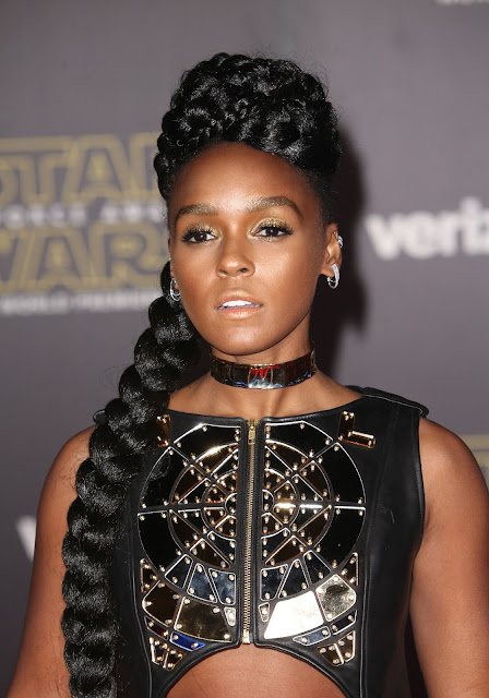 Actress, Singer, @ Janelle Monae - Star Wars: The Force Awakens Premiere in Hollywood on Dec