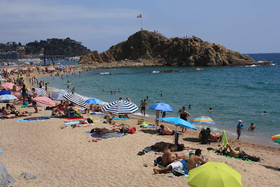 S'Abanell beach in Blanes