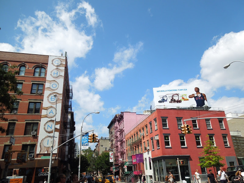 Chobani yogurt Team USA Olympics 2012 billboards NYC