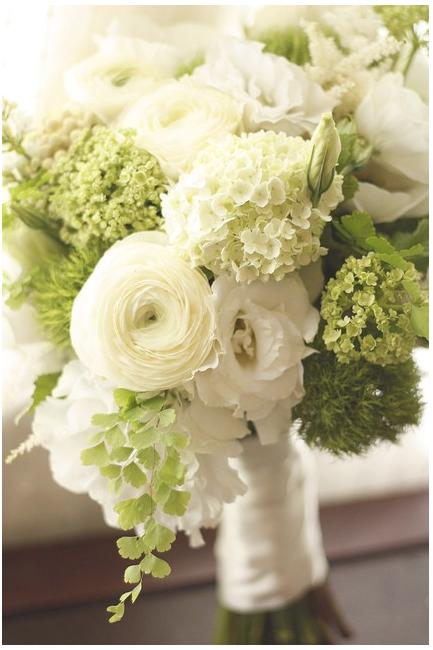 Bridal Flowers Green : Mrs nautical belle bridal talk tuesday flowers