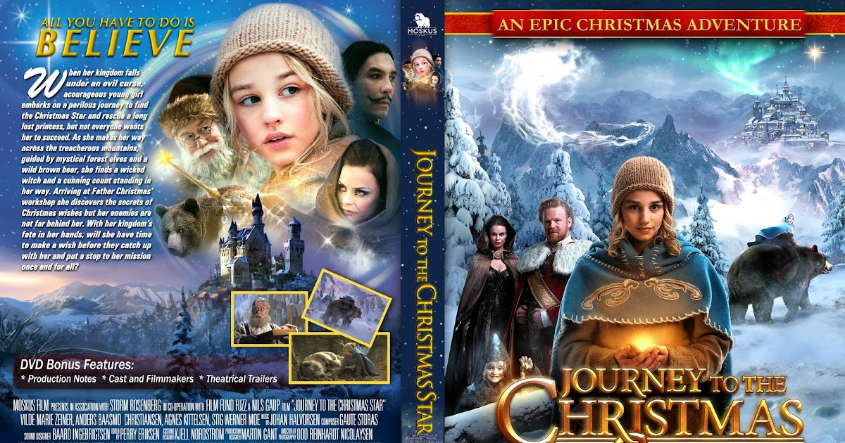 DVD COVERS AND LABELS: Journey to the Christmas Star DVD-COVER