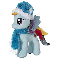 "Rainbow Dash 10"" Winter Aurora Plush"