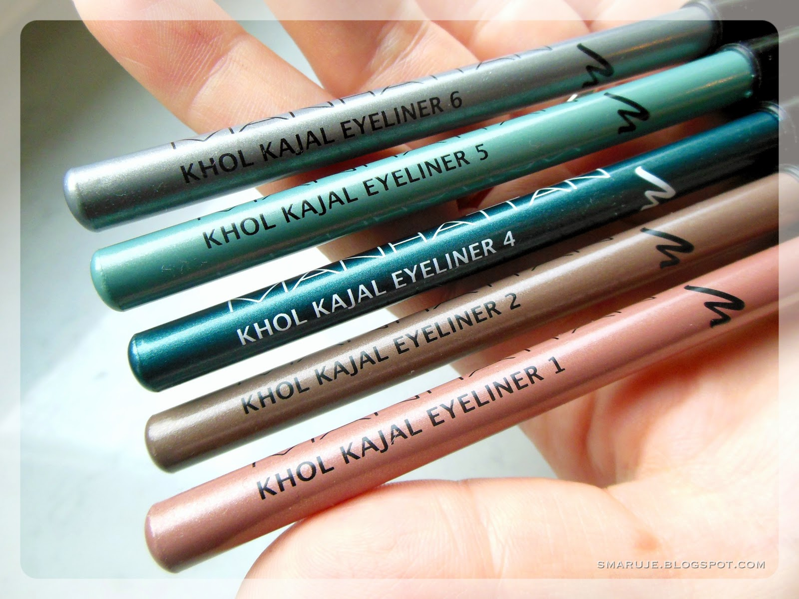 Manhattan – Khol Kajal Eyeliner, czyli kredki do oczu za grosze