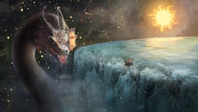 Σοκ και δέος! τα ακούσαμε και αυτο! τελικα η Γη ειναι επίπεδη! αυτο ισχυρίζεται κάποιος!