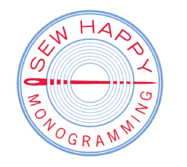 Sew Happy Monogramming