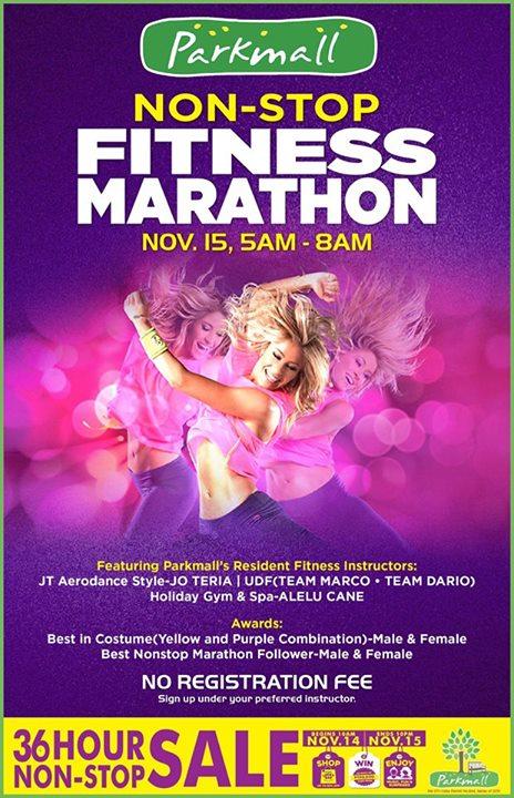 Parkmall-Non-Stop-Fitness-Marathon
