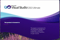 Screen Visual Studio 2010 Ultimate
