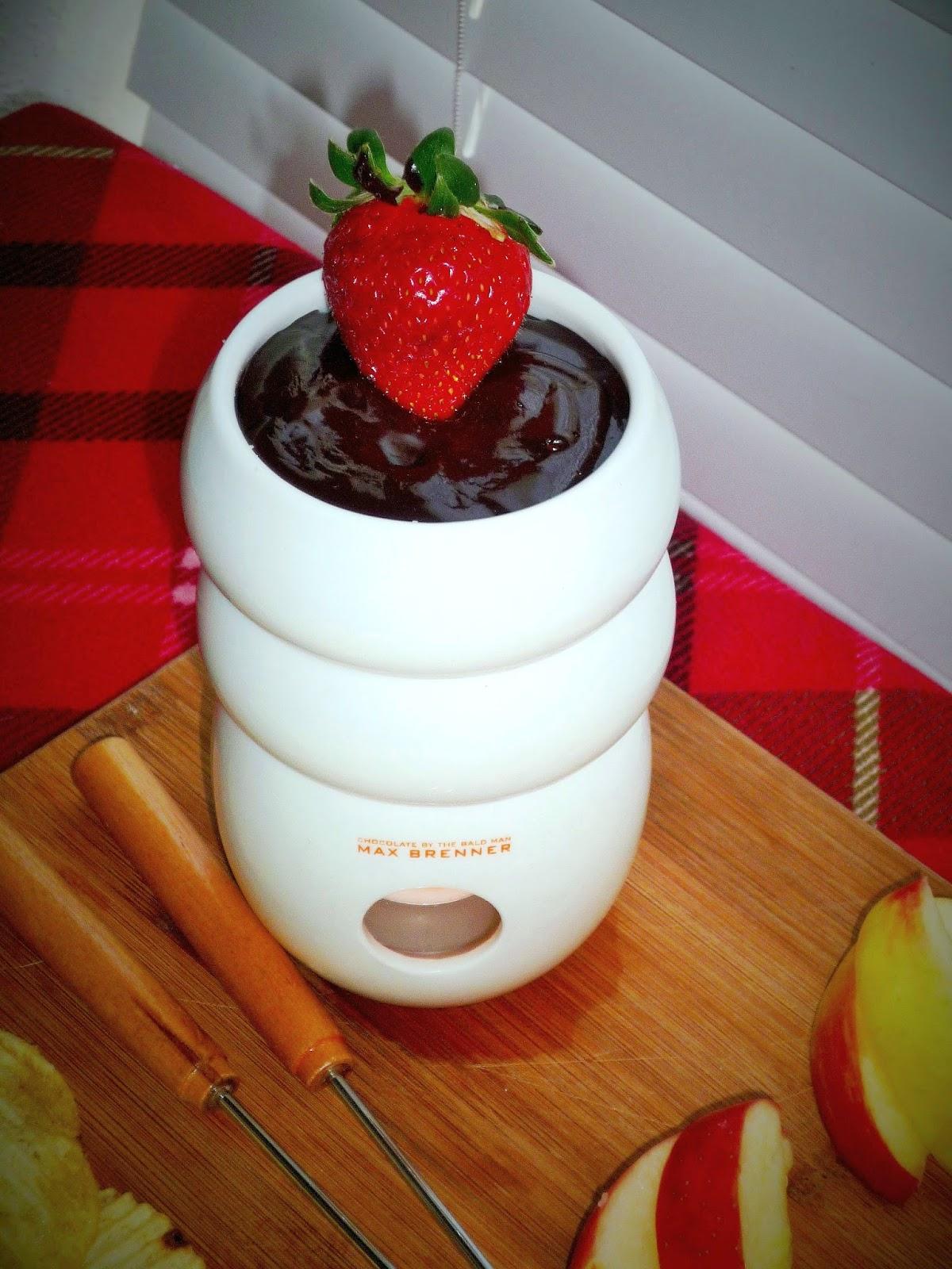 ... Valentine's Dessert: Split Decision Cinnamon-Orange Chocolate Fondue
