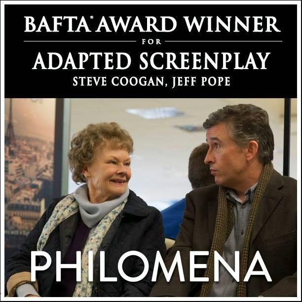 philomena 67th bafta best adapted screenplay award