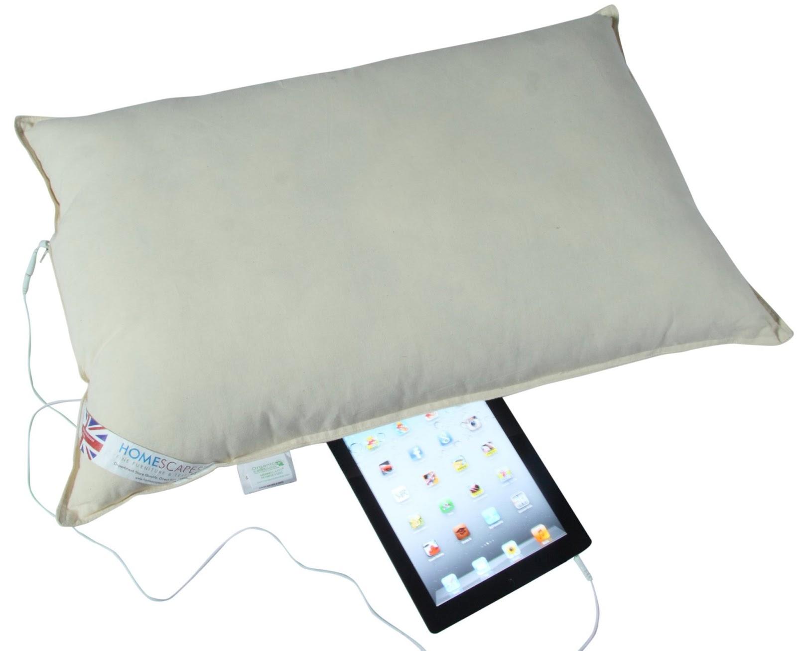 Duvets and pillows for Music speaker pillow
