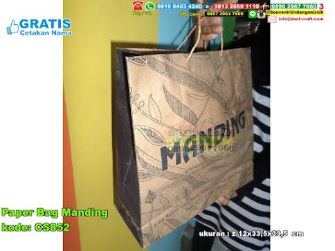 Paper Bag Manding