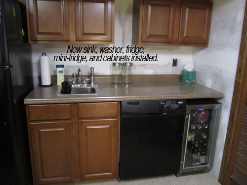 Before & After Envy The Kitchenette | Tried & Twisted