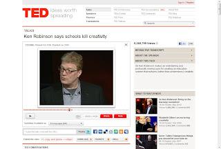 sir ken robinson video on creativity