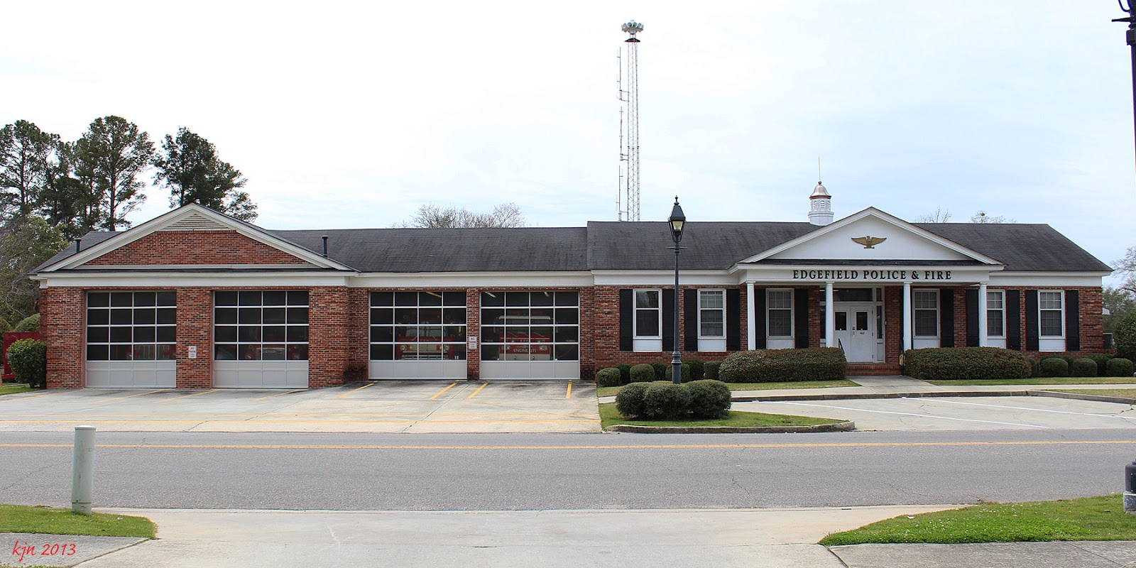 The Outskirts Of Suburbia Edgefield Fire Department Sc