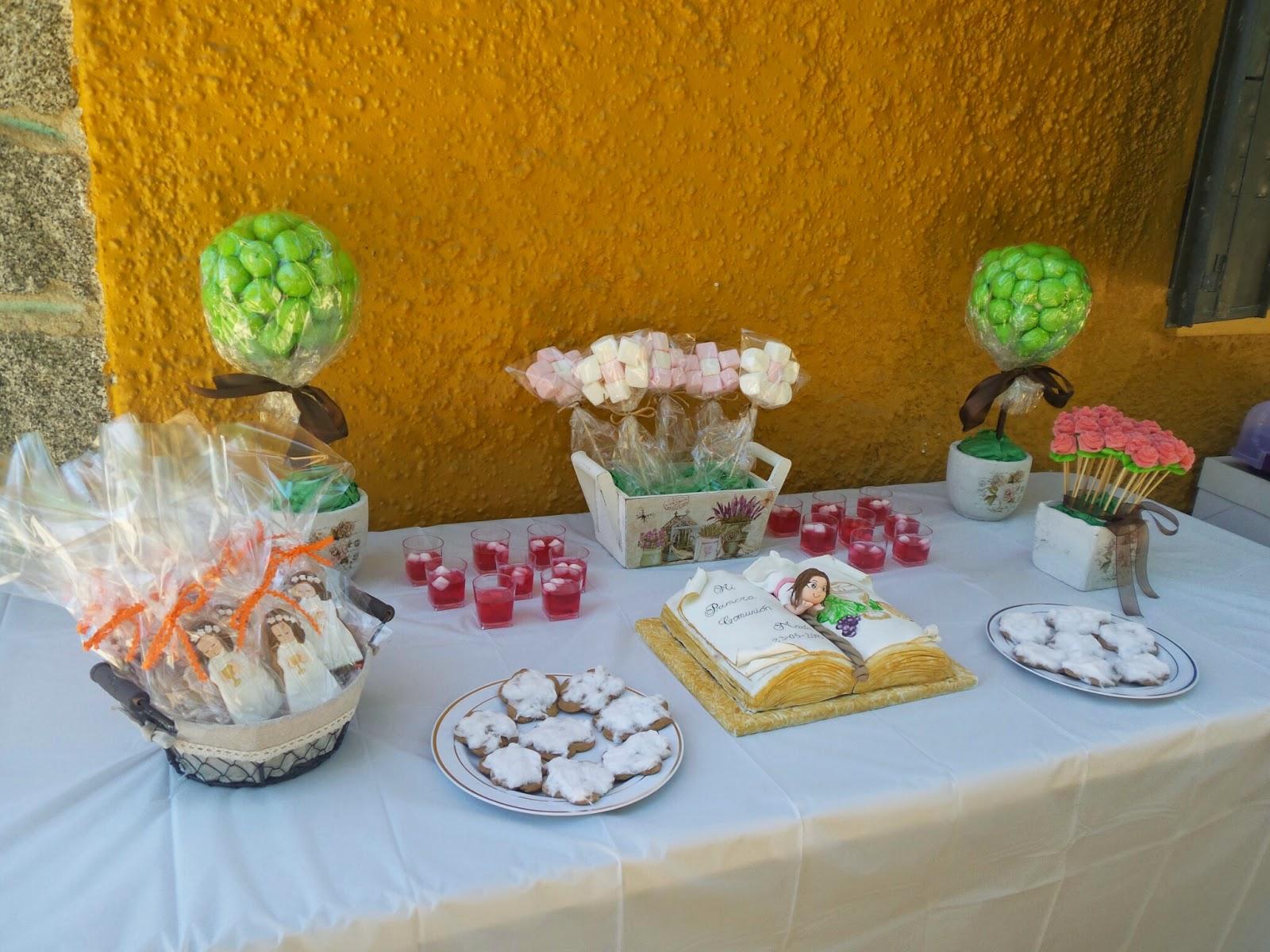 cosas de katy mesa dulce para la comuni n de mar a