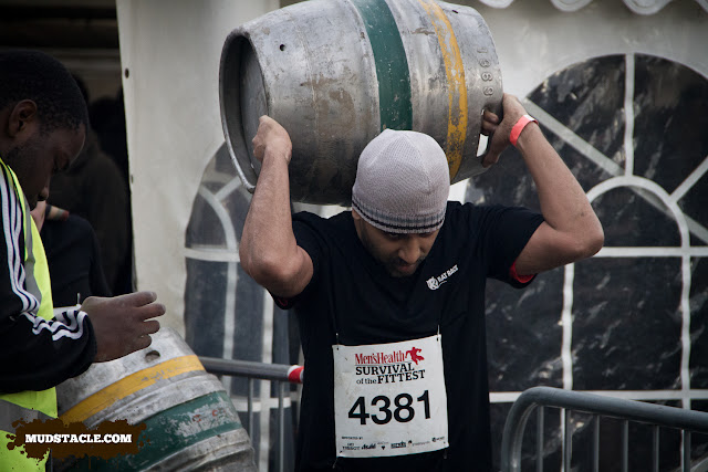 Keg carry at Survival of the Fittest