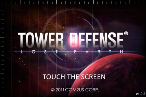Tower Defense: Lost Earth Free App Game By Com2Us